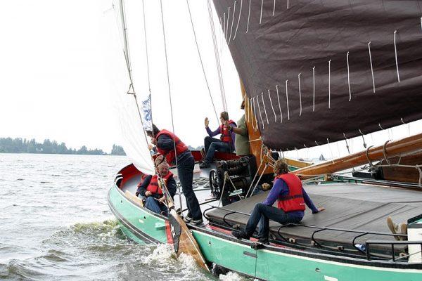 Bedrijfsuitje zeilen Friesland